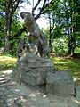 Karpaty Mukachivskyi Zakarpatska-botanical garden-Park sanatorium Carpathians-bears.jpg