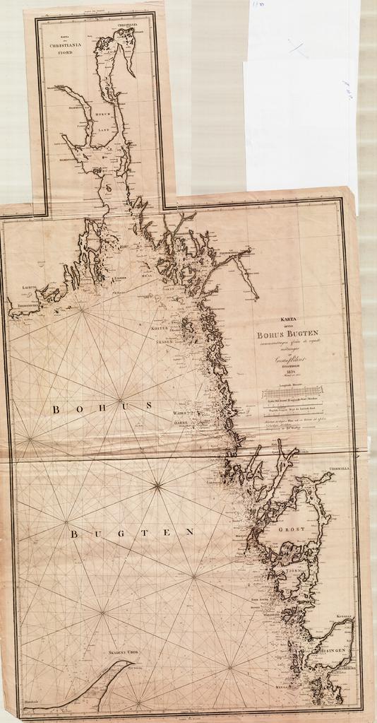 bohus kart File:Kart over Bohus Bugten og Christiania Fjorden fra 1843.png  bohus kart