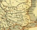 Karte aus dem Buch Römische Provinzen von Theodor Mommsen 1921 16e.png
