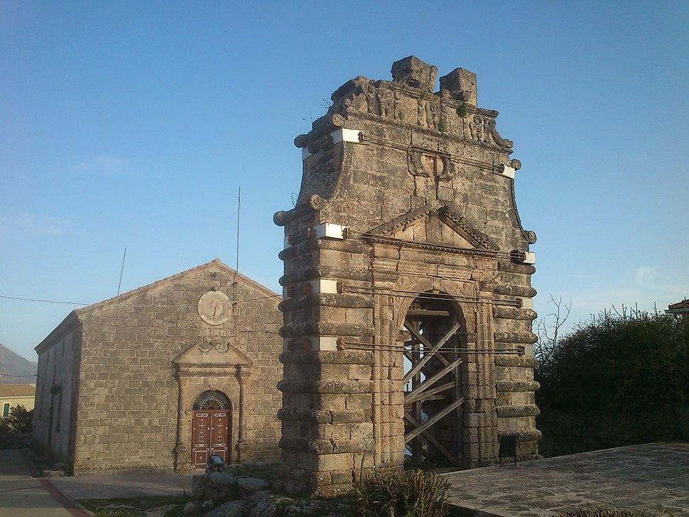 Kastro Kefalonia church