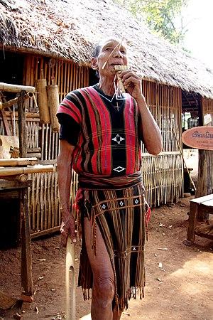 Katang people - A Katang woman in Laos.