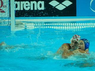 Dušan Mandić Serbian water polo player