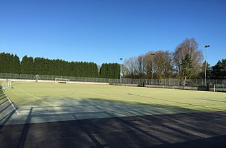Keele University all weather football pitch Keele University all weather football pitch.jpg