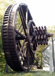 Rekonstruktion eines Kehrrades mit 9,5m Durchmesser in Clausthal-Zellerfeld