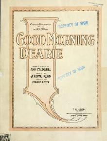 Kern, Good Morning Dearie, 1922.djvu