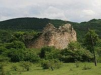 Khotevi fortress, Ambrolauri municipality, Georgia (Photo A. Muhranoff, 2011).jpg