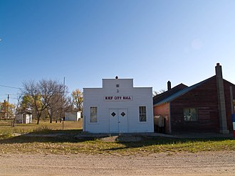 Kief, North Dakota - Kief City Hall