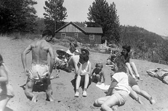 Kings Beach, California - Kings Beach, Lake Tahoe, around 1945