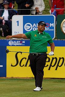 Kiradech Aphibarnrat Thai professional golfer
