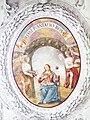 Kirchhaslach Pfarrkirche Medaillon Qasi piantatio rosa.jpg
