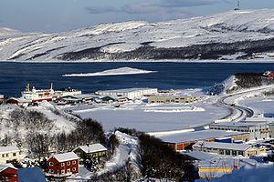 Hafen von Kirkenes
