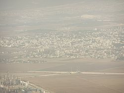 Kiryat Ata viewed from Eshkol tower.jpg