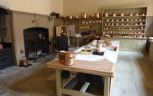 Attingham Park - Kitchen at Attingham