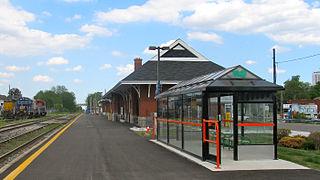 Kitchener station railway station in Kitchener, Canada