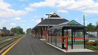 Kitchener station - Image: Kitchener station wide