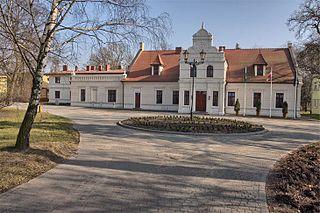 Kołuda Wielka Village in Kuyavian-Pomeranian Voivodeship, Poland