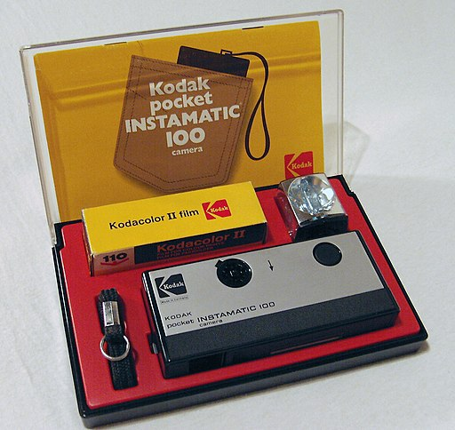 Kodak pocket instamatic 100 (1972)