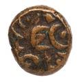Kopparmynt, 1646-1667. 2 kas, 2 doit. Holländska Indien - Skoklosters slott - 108652.tif