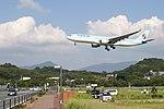 KoreanAir A330 fukuoka 20090913152146.jpg