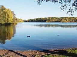 Kottlasøen, vy mod øst.   Foto:   Oktober 2009.