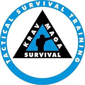 English: Krav Maga Survival logo