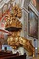 Krems - Pfarrkirche St. Veit, Kanzel.jpg