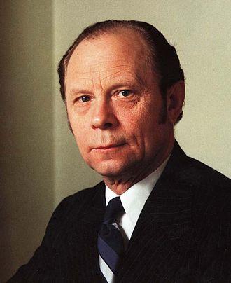 President of Iceland - Image: Kristján Eldjárn (1982)