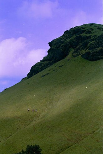"Chikmagalur district - Kudremukha, the ""Horse-faced Peak"""