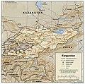 Kyrgyzstan 1996 CIA map.jpg