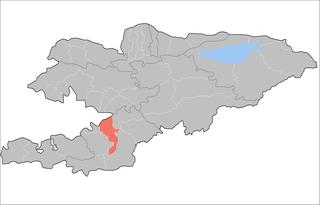 Kara-Suu District Raion in Osh Region, Kyrgyzstan