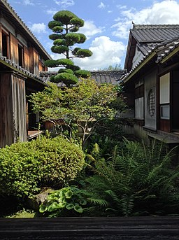 Kyuu-Hosogawa-Gyoubu-Tei, inner garden