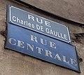 L'Arbresle - Rue Charles de Gaulle (plaques).jpg