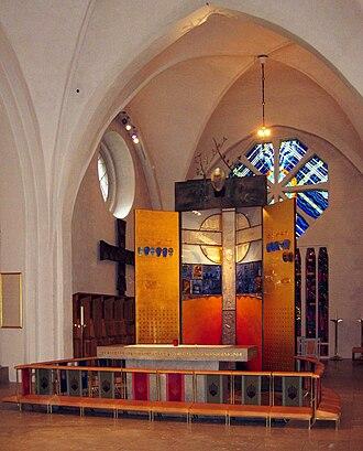 Växjö Cathedral - Image: LA2 vx 06 domkyrkan altare