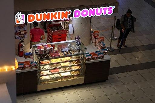 LIMKETKAI INSIDE Dunkin' Donuts