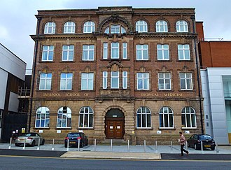 Liverpool School of Tropical Medicine - Image: LSTM Main Building