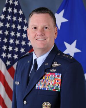Marshall B. Webb - Lt General Brad Webb, USAF
