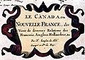 La Canada ou Nouvelle France, &c (légende).jpg