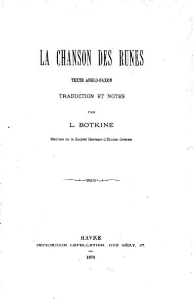 File:La Chanson des runes, trad. Botkine, 1879.djvu