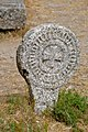 La Couvertoirade (Aveyron) basque stele in the cemetery (20127118431).jpg