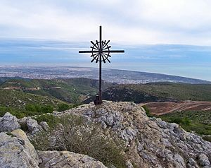 Garraf Massif - View from La Morella, the highest peak in the Garraf Massif.