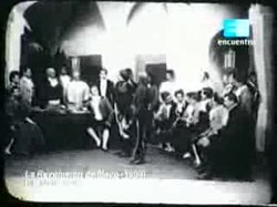 Archivo:La revolución de mayo (Mario Gallo, 1909).ogv
