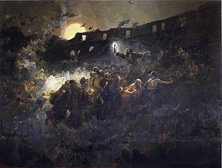 La visión del Coloseo. El último mártir