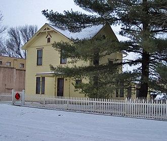 Herbert Hoover National Historic Site - Laban Miles House