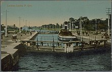 Lachine Locks between 1903-1920