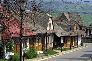 Lanckorona Village in Lesser Poland, Poland