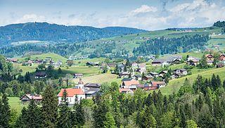 Langenegg Place in Vorarlberg, Austria