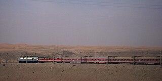 Lanzhou–Xinjiang railway railway line