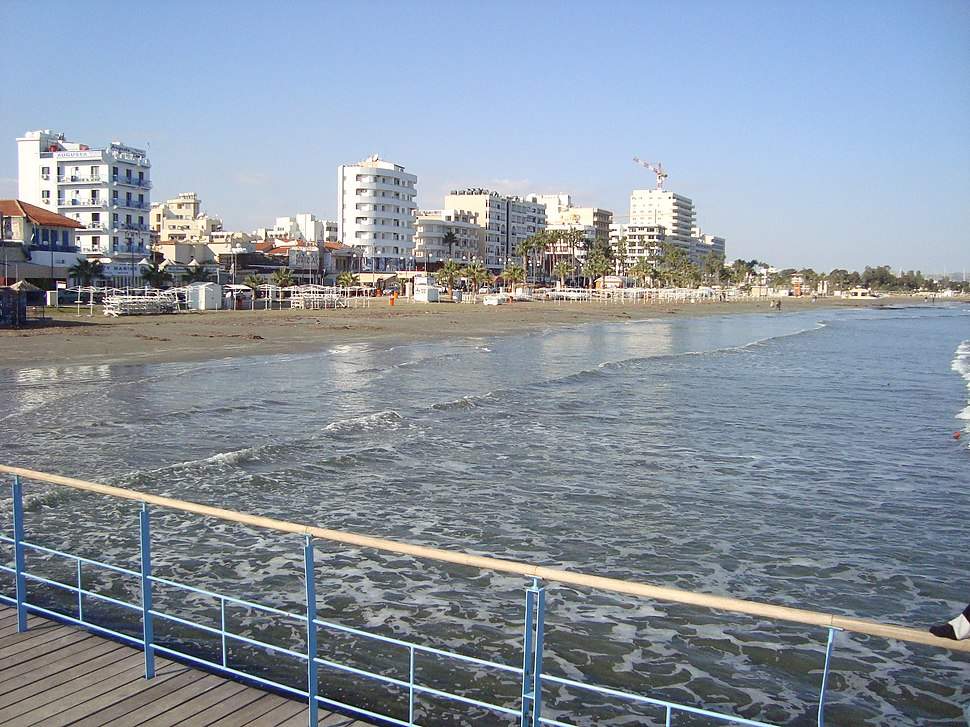 Larnaca by the sea