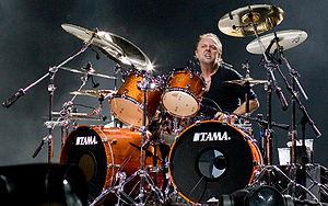 Kill 'Em All - Image: Lars Ulrich live in London 2008 09 15