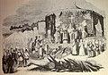 """Las Glorias Nacionales, 1852 """"Pelayo y los prelados y guerrreros españoles rinden gracias al Eterno sobre el campo de batalla de Covadonga"""". (4013950688).jpg"""